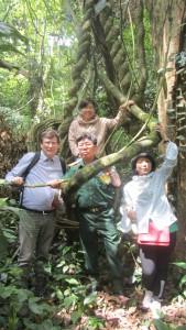 """Национальный парк """"Кук Фын"""" (Северный Вьетнам). Экспедиция достигла тропического леса."""