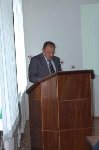 Выступление А.Ф. Триандафилова на сессии НИИСХ РК