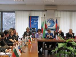 Делегация Коми научного центра в Болгарии