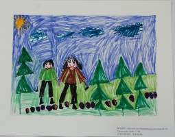 """""""Отважные геологи"""", Тропникова Даша, 5 лет"""