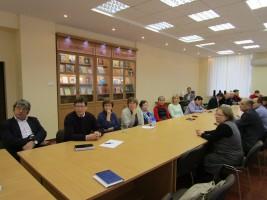 Участники заседания Коми отделения Русского ботанического общества