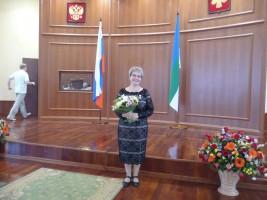Е.Н. Патова - почётный эколог Республики Коми