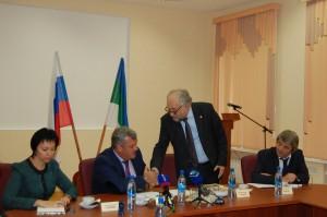 На встрече врио Главы РК С.А. Гапликова с учеными Коми НЦ