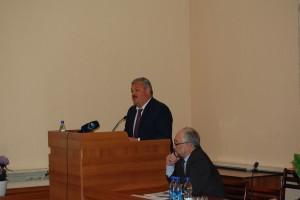Выступление врио Главы РК С.А. Гапликова на встрече с сотрудниками Коми НЦ УрО РАН